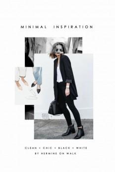 Minimal Fashion Inspiration on Inspirationde