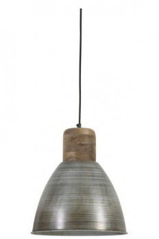 ISMAY 310 ANTIQUE SILVER PENDANT - Modern Pendants - Pendant Lights - Lighting Direct