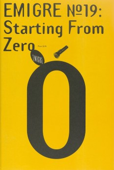 Emigre #19: Starting From Zero on Inspirationde