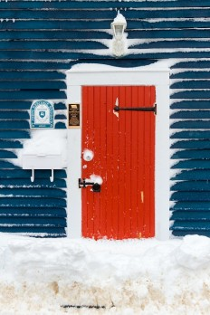 The Red Door – St. John's, Newfoundland, Canada on Inspirationde