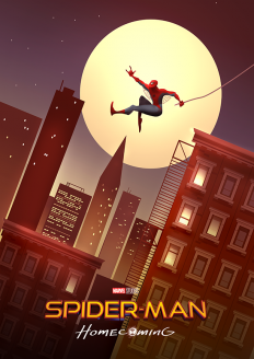 Spider-Man: Homecoming Poster on Inspirationde