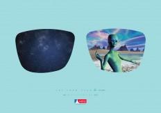 Óticas Paris Print Advert By MP Publicidade: Alien   Ads of the World™