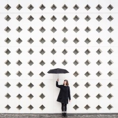 Architecture Photography Shows Couple with Buildings Around the World on Inspirationde