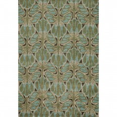 Momeni Rio Teal 8 ft. x 10 ft. Indoor Area Rug-RIO00RIO-3TEL80A0 - The Home Depot