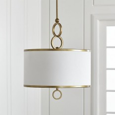 """Axiom 18"""" Brass Pendant 