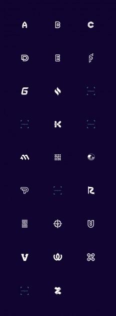 Logo Alphabet / Logofolio on Inspirationde