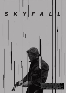 Skyfall Movie Poster on Inspirationde