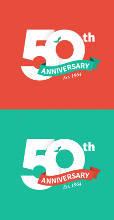 50th Anniversary Logo on Inspirationde