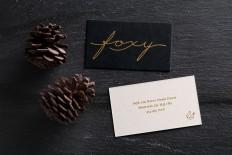 Foxy - Brand identity on