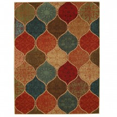 Mohawk Home Riza Tile Fret Multi 7 ft. 6in. x 10 ft. Area Rug-003331 - The Home Depot