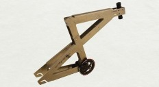 Pocket: nobike is the slot-and-slide bicycle frame that adjusts to your size