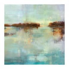 Abstract Waters II Canvas Art Print | Kirklands