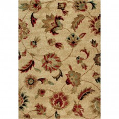 Shop Orian Rugs Landyn Beige Rectangular Indoor Machine-made Nature Area Rug (Common: 9 x 13; Actual: 9-ft W x 13-ft L) at Lowes.com