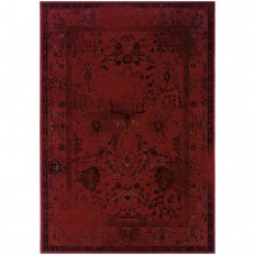 Home Decorators Collection Euphoria Red 7 ft. 8 in. x 10 ft. 10 in. Area Rug-1126140110 - The Home Depot