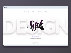 Syck Home Page by Greg
