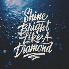 shine bright like a diamond.. on Inspirationde