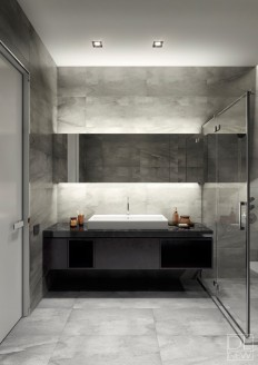 Two Apartments With Texture: One Soft, One Sleek on Inspirationde