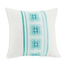 Trina Turk® Kimono Geo Throw Pillow in White - Bed Bath & Beyond