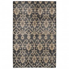 Kaleen Restoration Black 9 ft. x 12 ft. Area Rug-RES01-02 9 X 12 - The Home Depot