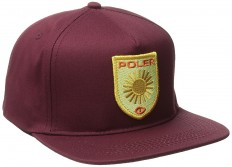 Poler Stuff Hat D Patches Snapback, Sweet Berry Wine, One Size, POLMCAP_DPA: Amazon.de: Bekleidung
