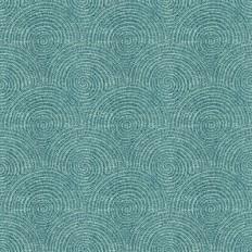 Kravet 33897.15 Darya Turquoise Fabric | OnlineFabricStore.net