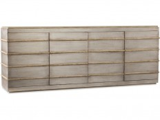 Hooker Furniture Home Entertainment Urban Elevation Metal Entertainment Credenza 1620-55484-LTBR
