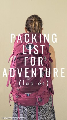 Michelle's Packing List on Inspirationde