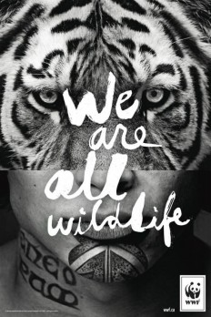 For WWF, we are all animals on Inspirationde