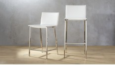 phoenix ivory bar stools | CB2
