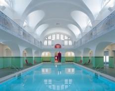 Swimming-Hall in Gotha, Germany. : AccidentalWesAnderson