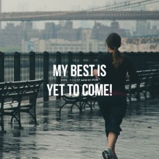 New Year Fitness Motivation – My best is yet to come! on Inspirationde
