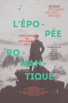 Poster Festival Musique en cote basque on Inspirationde