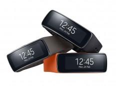 Samsung Gear Fit on