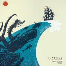 Florence + The Machine Poster on Inspirationde