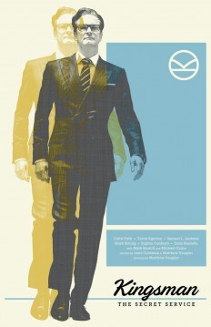 Kingsman Film Poster on Inspirationde