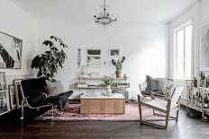 my scandinavian home: A Swedish home with striking contrasts