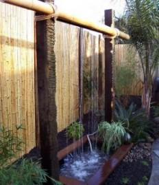 Build a beautiful rain shower fountain for your backyard!