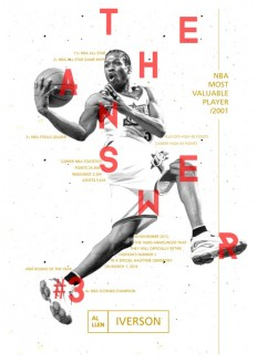 The NBA's Identity Lettering! on Inspirationde