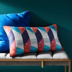 Abstract Geoscape Pillow Cover | west elm