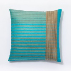 Sari Silk Stripe Pillow Covers | west elm