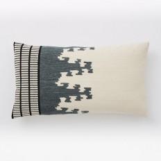 Ikat Totem Crewel Pillow Cover | west elm