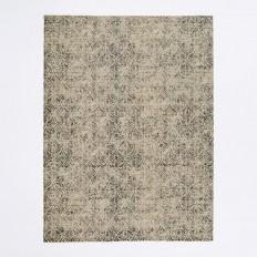 Fans Printed Wool Rug | west elm