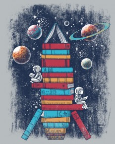Reading Rocket Ship by qetza on Inspirationde