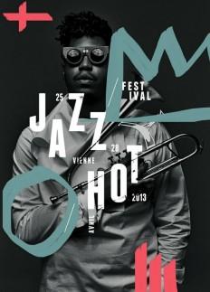 jazz festival Poster Design on Inspirationde
