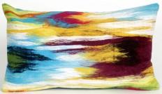 Trans-Ocean - Trans-Ocean Visions Iii Pillow Ikat Splash Blue #153704