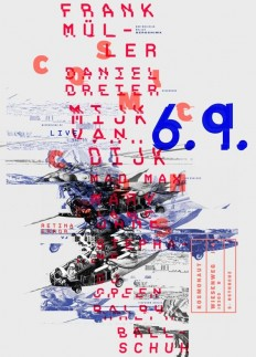 Poster typographic by Patrick Dreier on Inspirationde