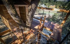 Before & After: A Two-Story Treehouse in Calistoga, California - Gardenista
