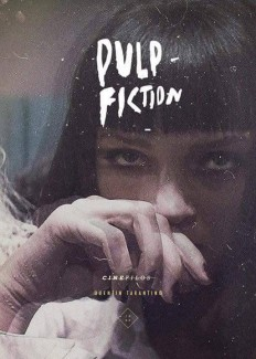 Pulp Fiction Poster Design on Inspirationde