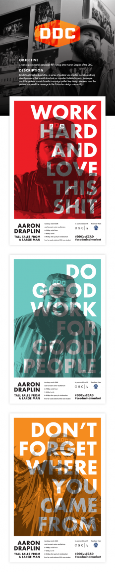 Aaron Draplin Promotions on Inspirationde