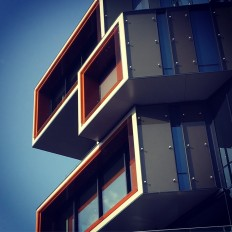 Modern architecture in Nydalen in Oslo on Inspirationde